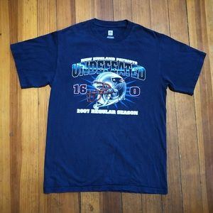 2007 Patriots Undefeated Graphic T-Shirt